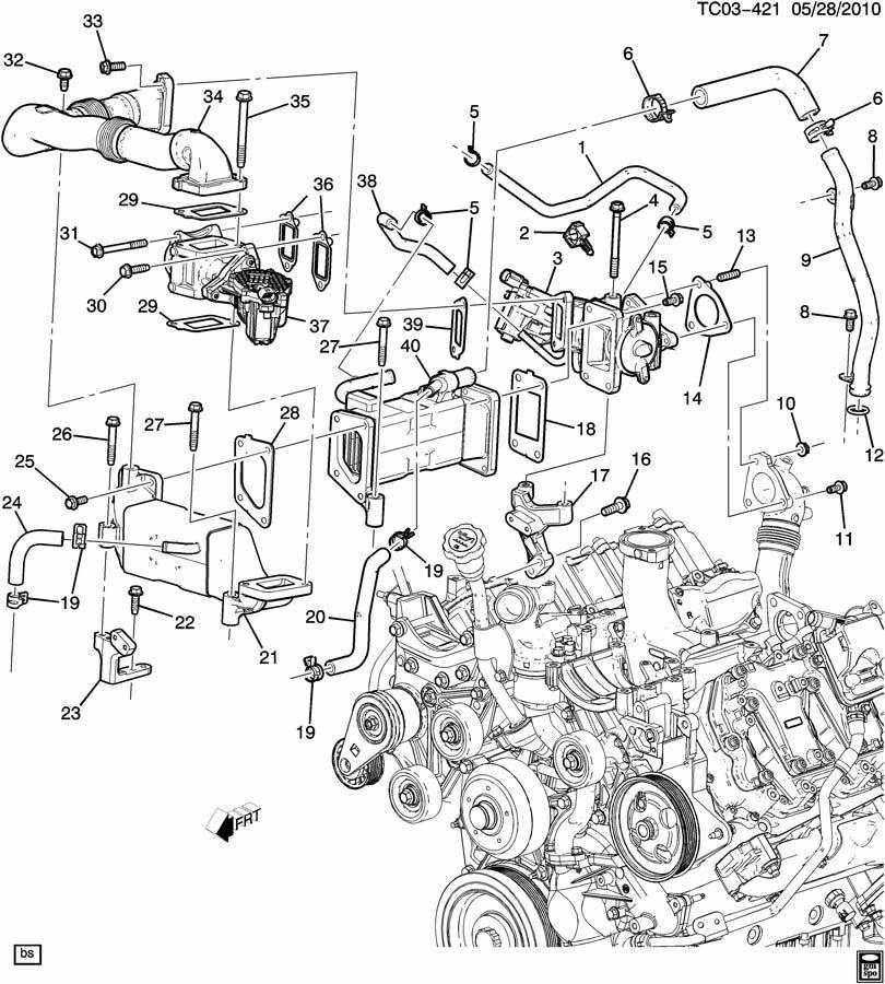2011 Duramax Fuel System Diagram
