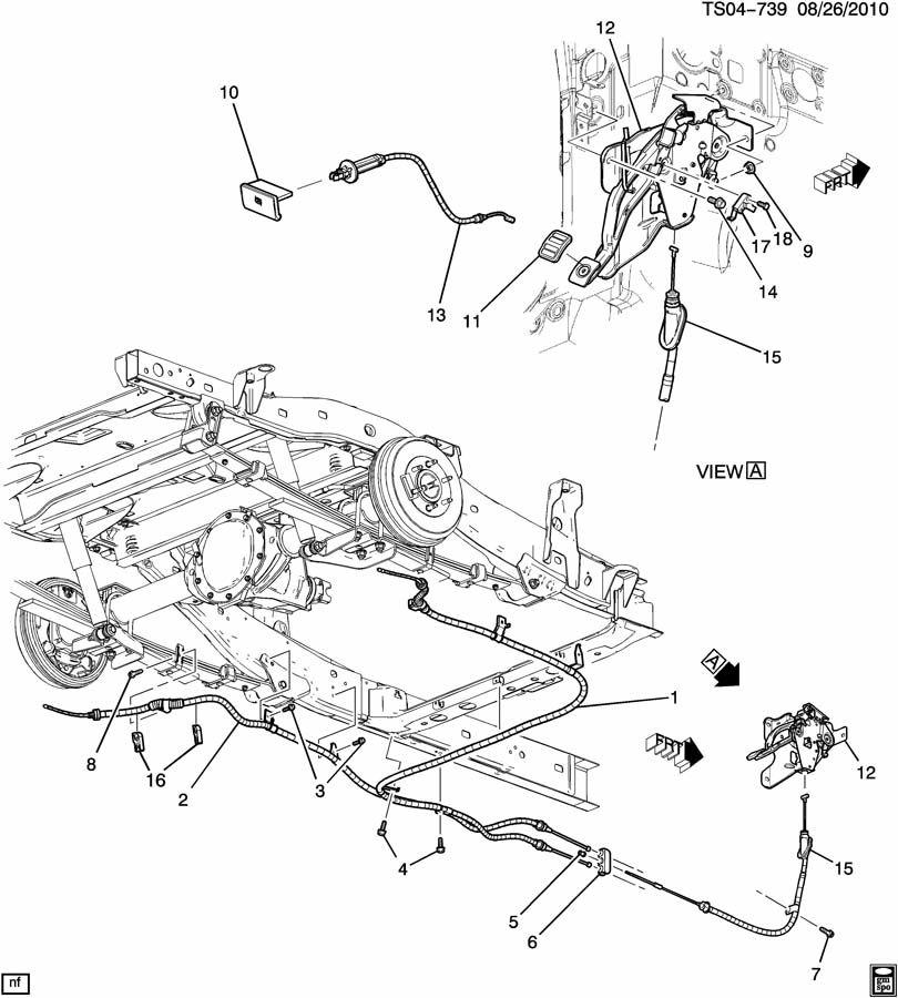 2004 Chevy Silverado Brake Lines