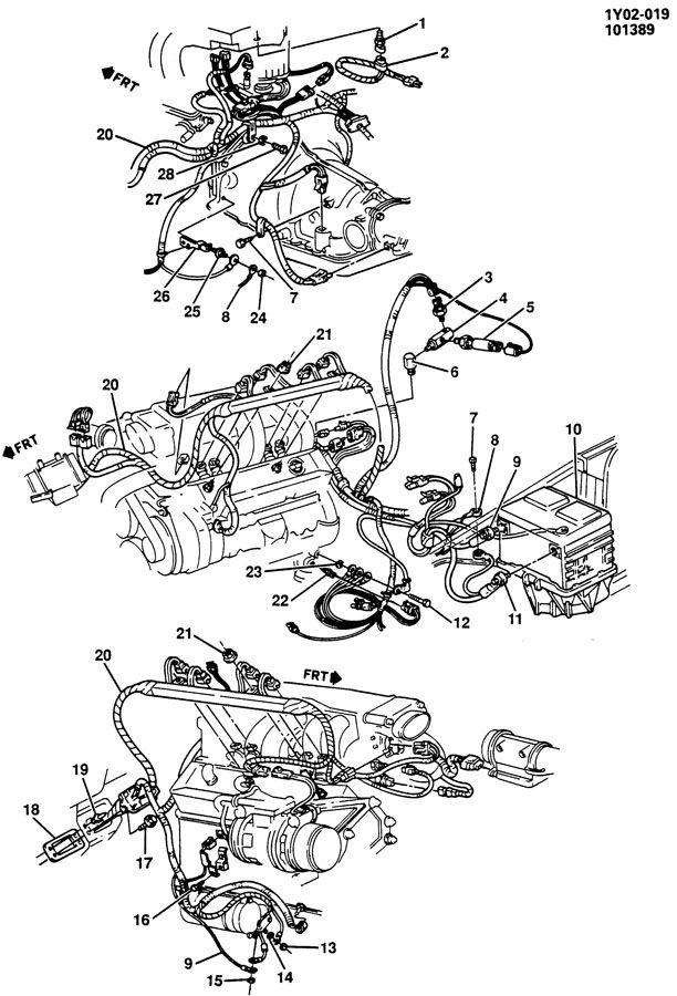Order 350 Firing Chevy 1985