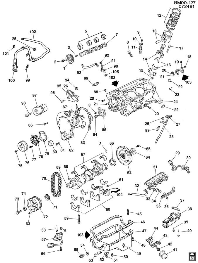 Diagram 3 1l Engine Diagram