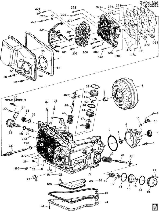 Diagram 4t65e Diagram