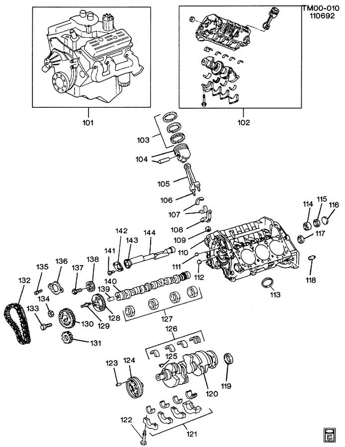4 3 Liter Vortec Engine Schematic