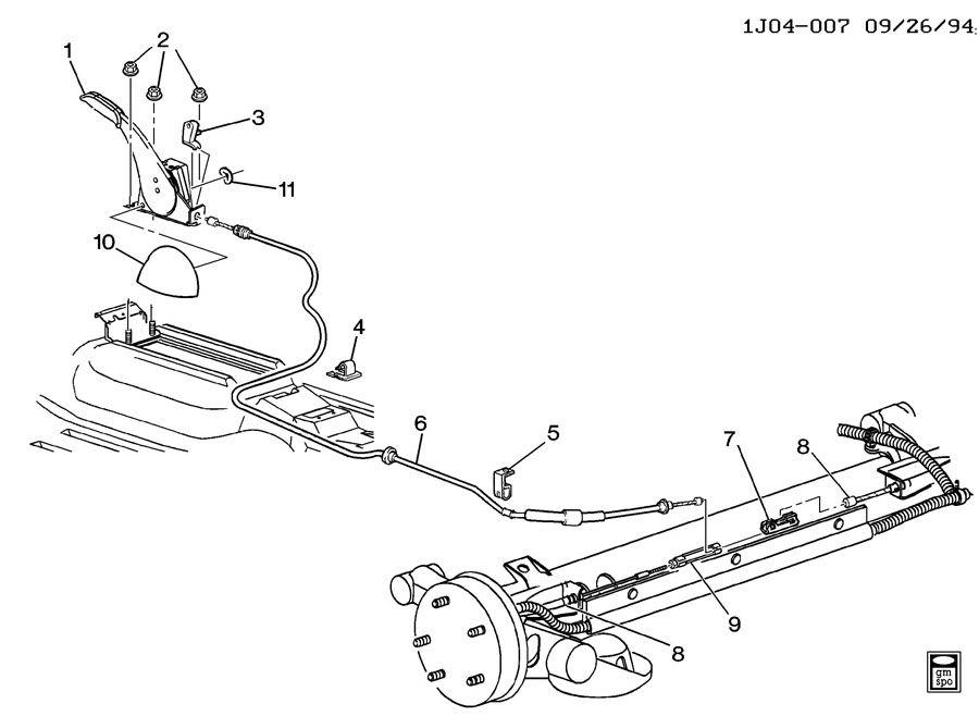 2003 Chevy Cavalier Fuel Pump Location
