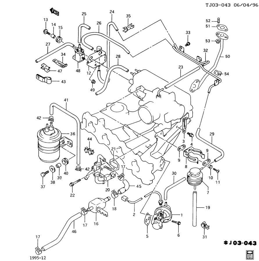 Instrument Cluster Wiring Harness 1994 Geo Prizm