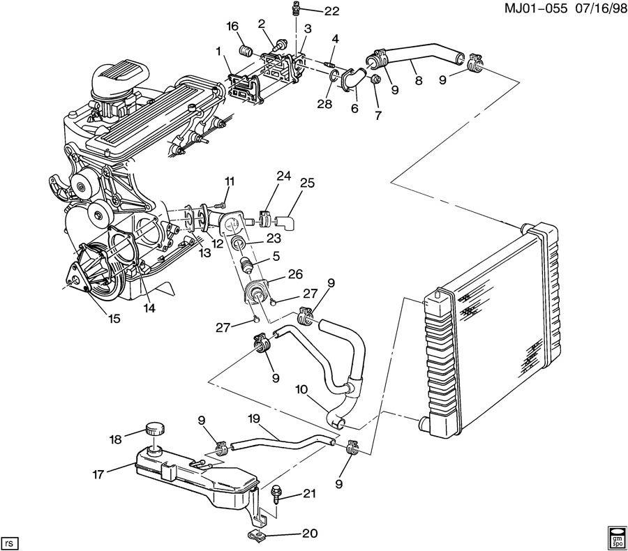 Diagram 98 S10 Parts