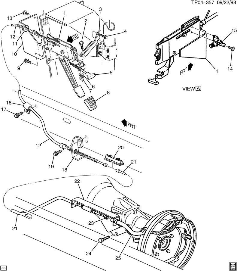 P30 Chassis Parking Brake Diagram