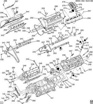 Cadillac northstar v8 engine diagram