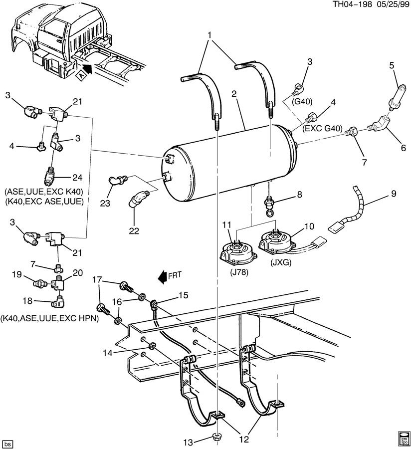 1999 Gmc C7500 Wiring Diagram
