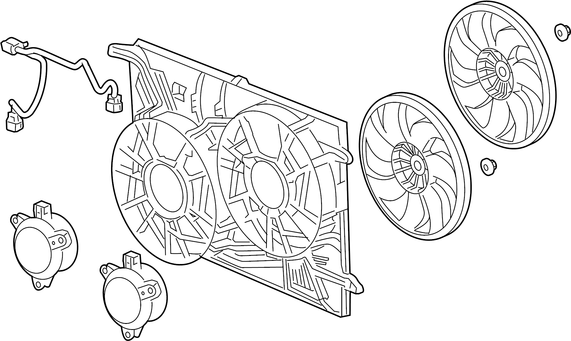 Radiator Mounting Amp Related Parts