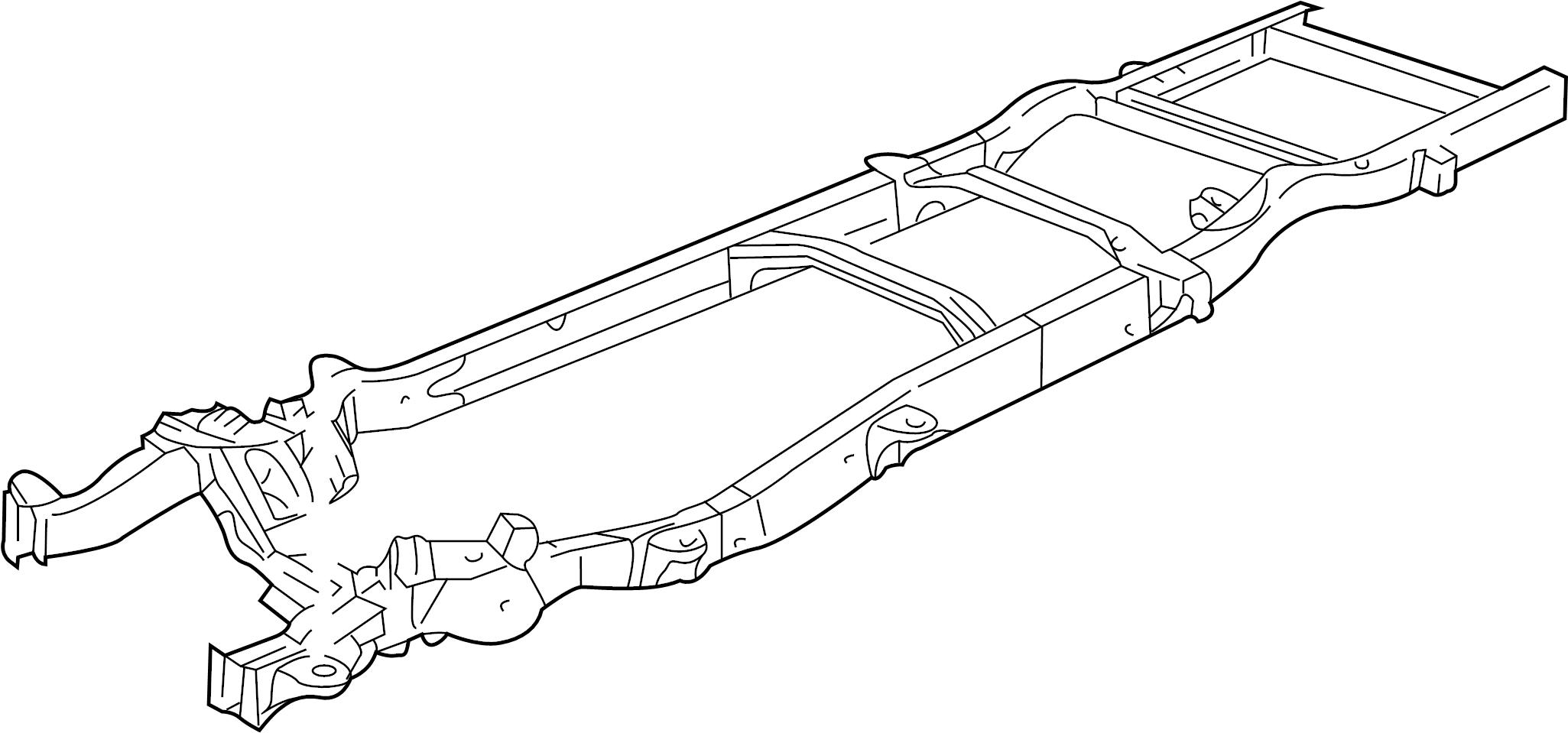 Gmc Savana Frame H134 234 Frame