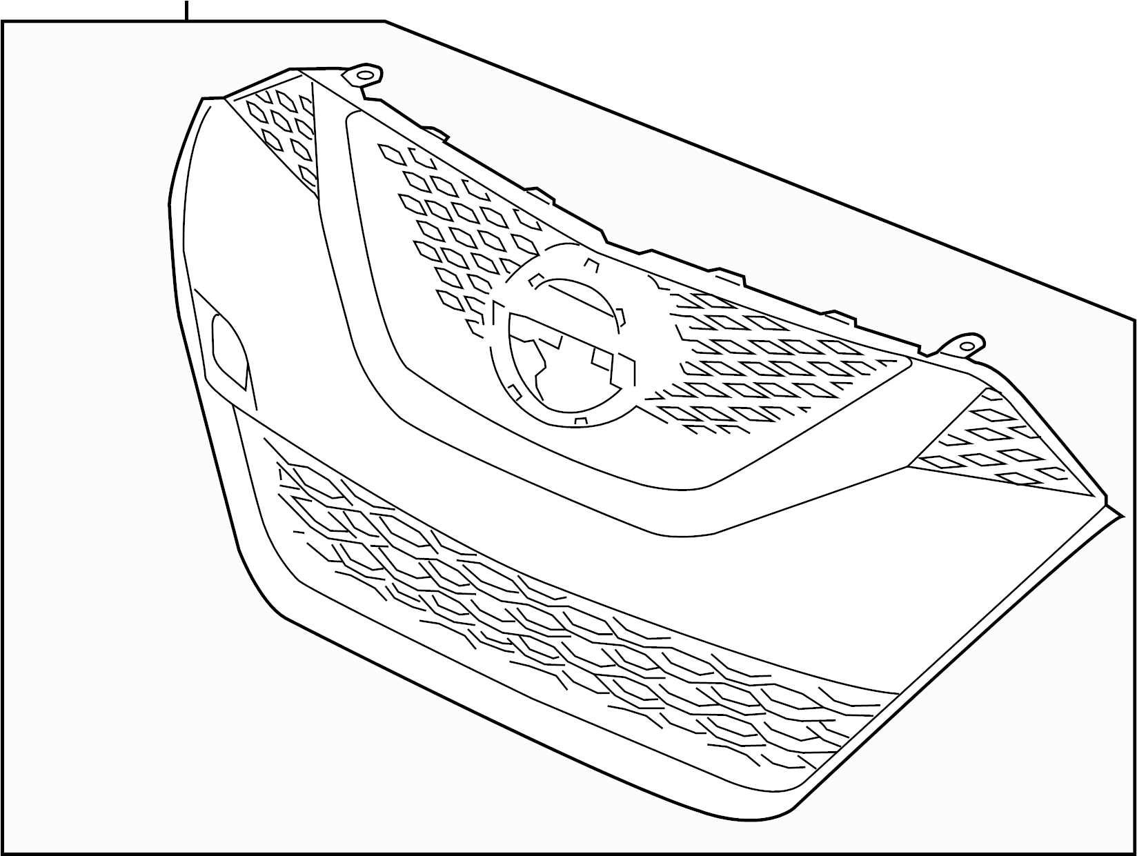 Nissan Maxima Grille Front