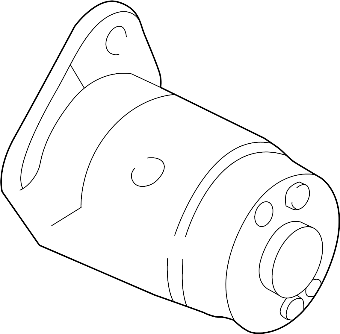 Nissan Frontier Starter Motor