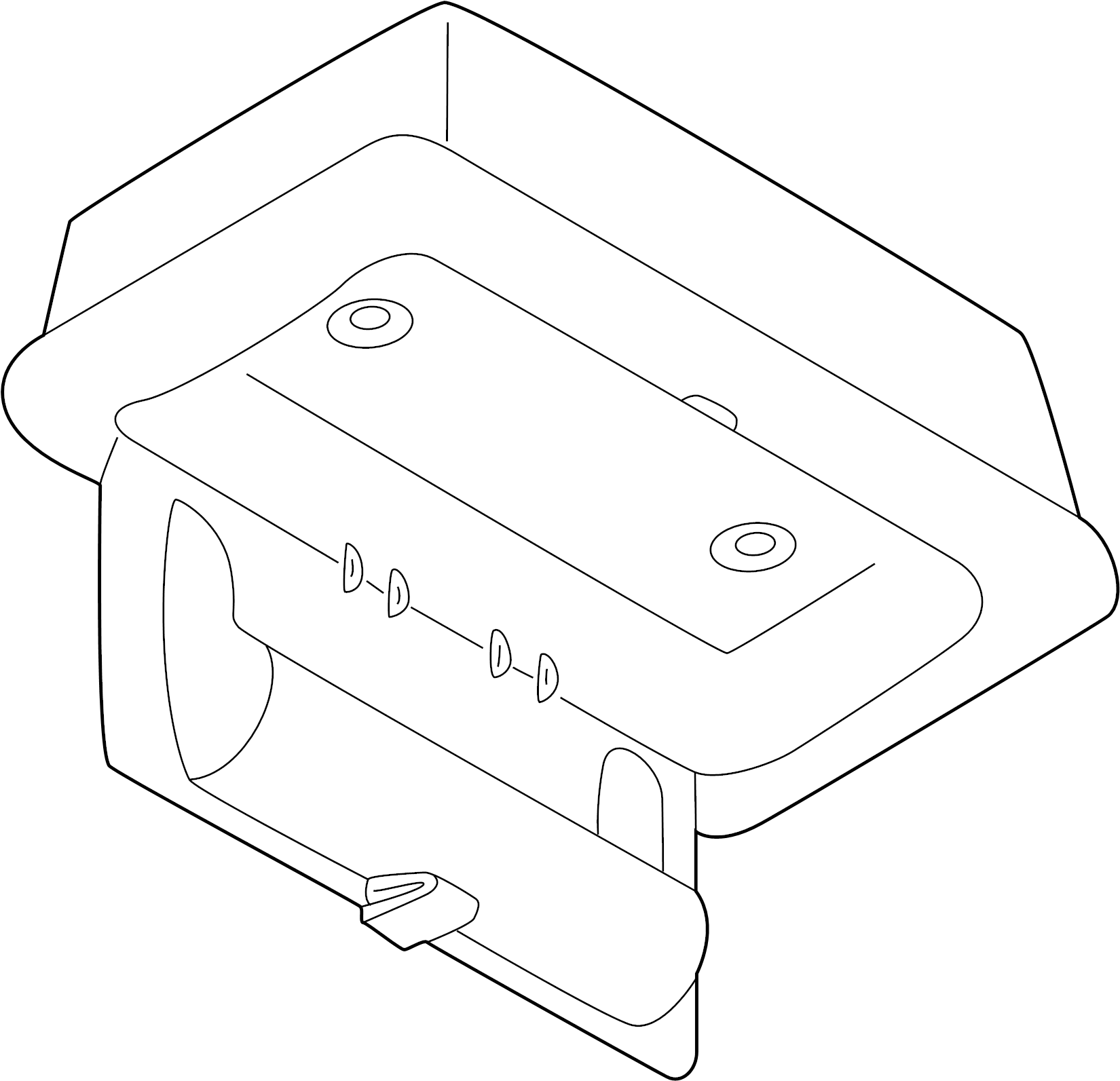 Nissan Maxima Overhead Console Gwx Sunroof Pack