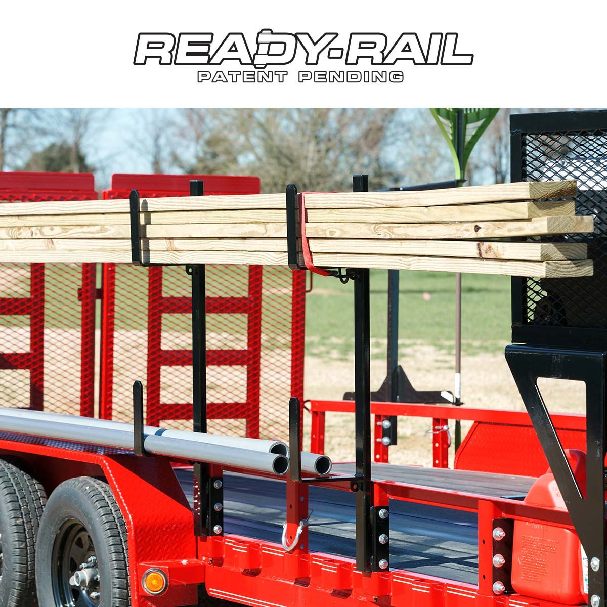 ready rail pipe utility rack