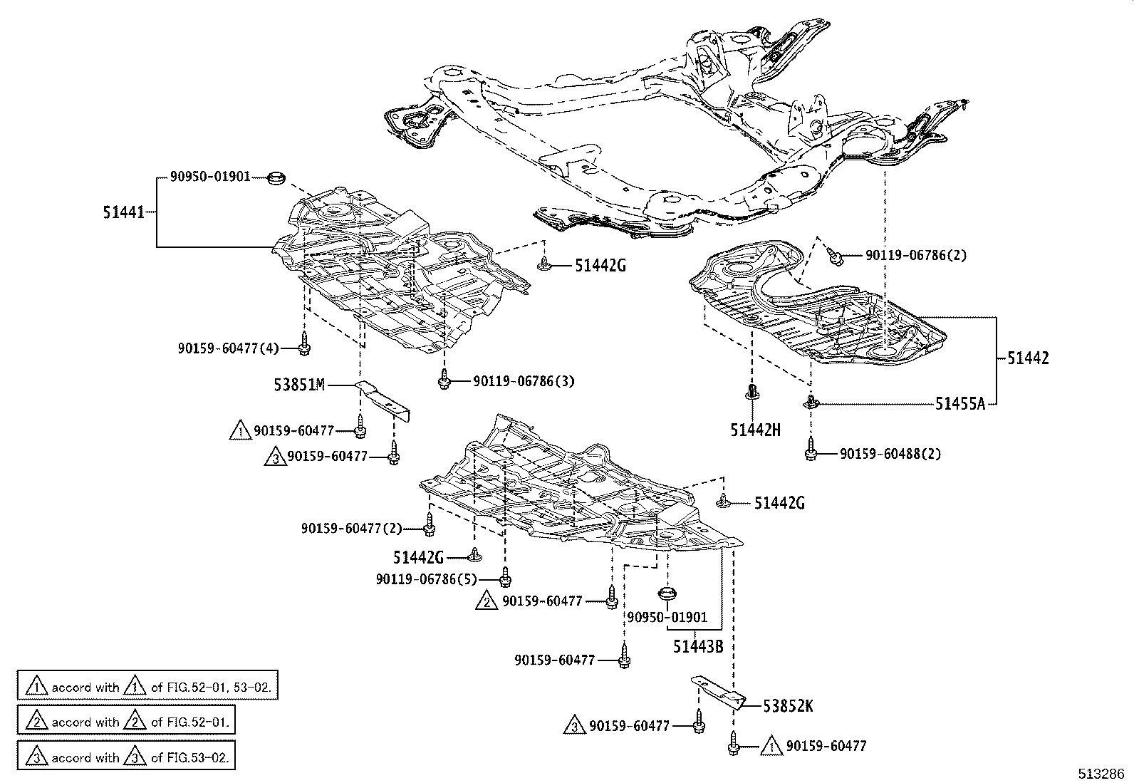 Lexus Rx 350l Cover Engine Under No 1 Suspension
