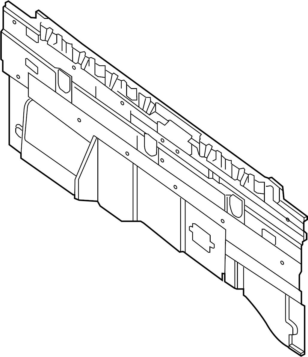 Nissan Titan Finisher Panel Rear