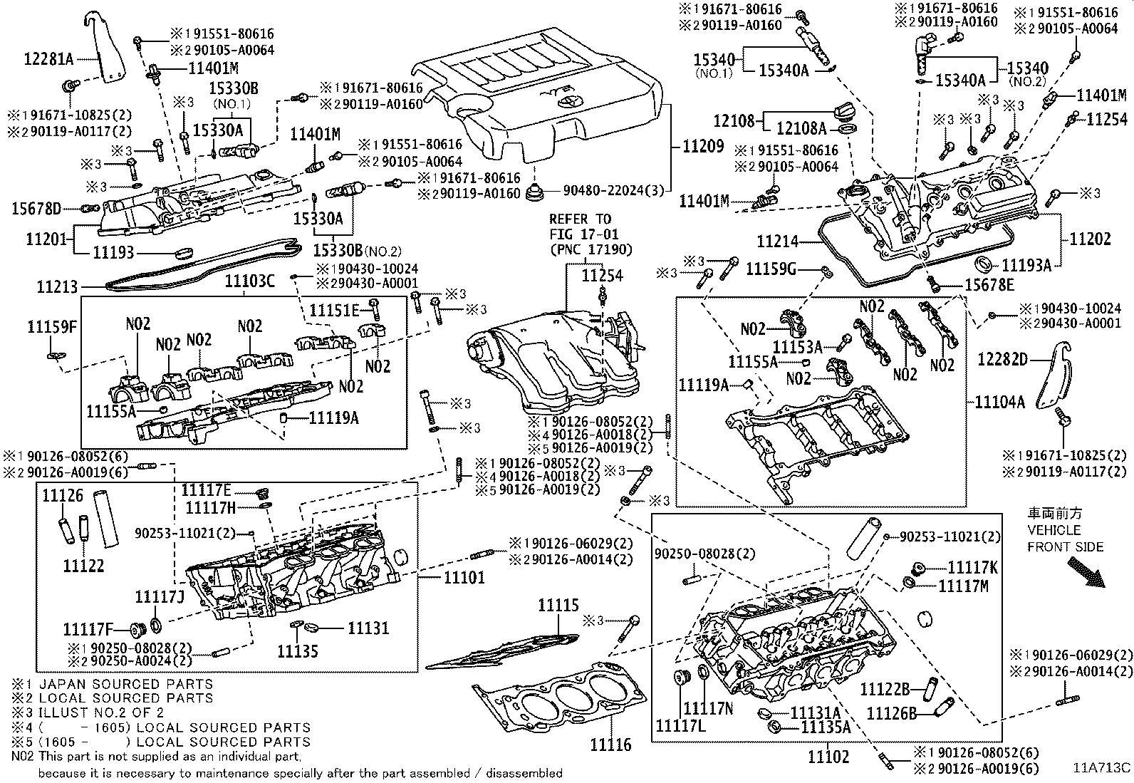 Lexus Es 350 Engine Cylinder Head Gasket Gasket Cylinder