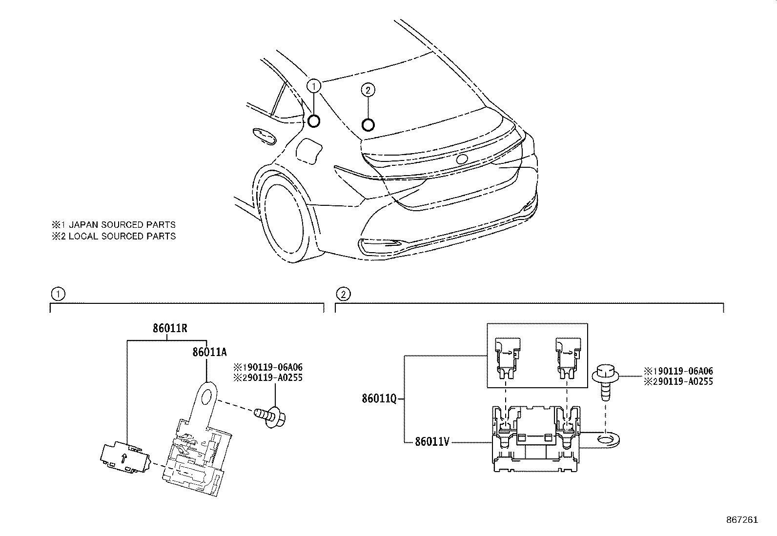 Lexus Es 350 Cover Audio Amplifier Noble Brown