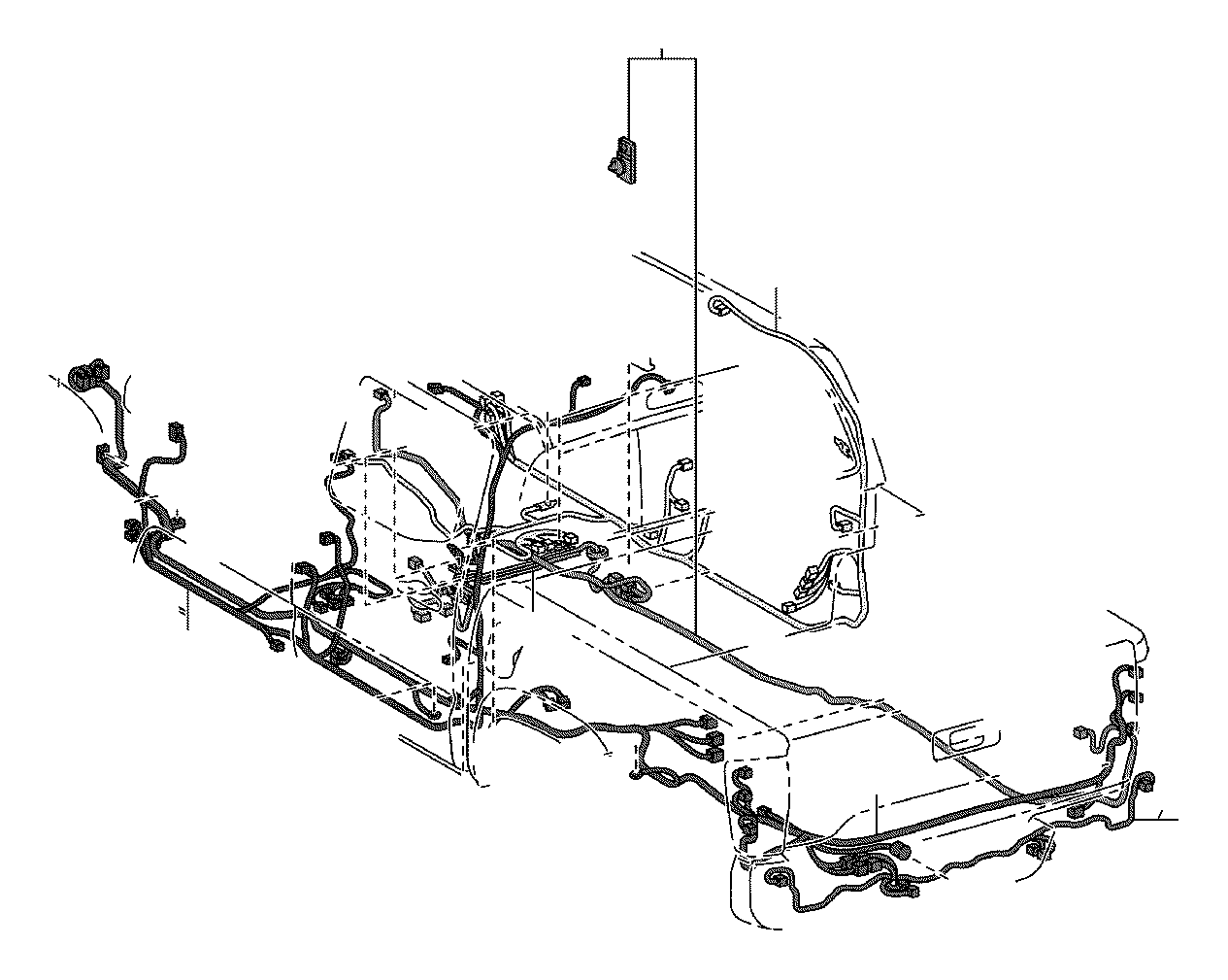 Toyota Tacoma Wire Floor Engine Clamp Connector