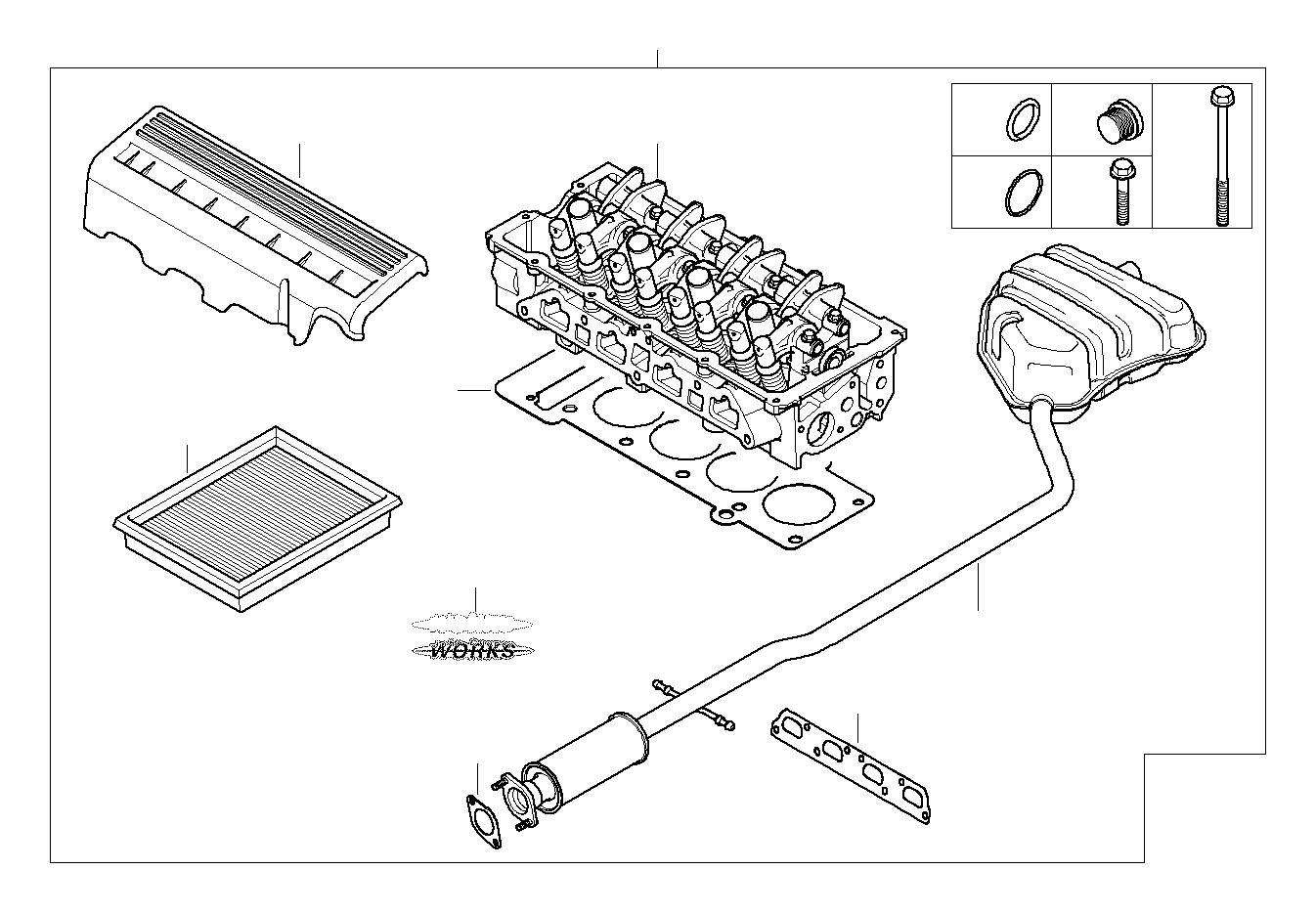Mini Cooper S Model Designation Lettering Rear J