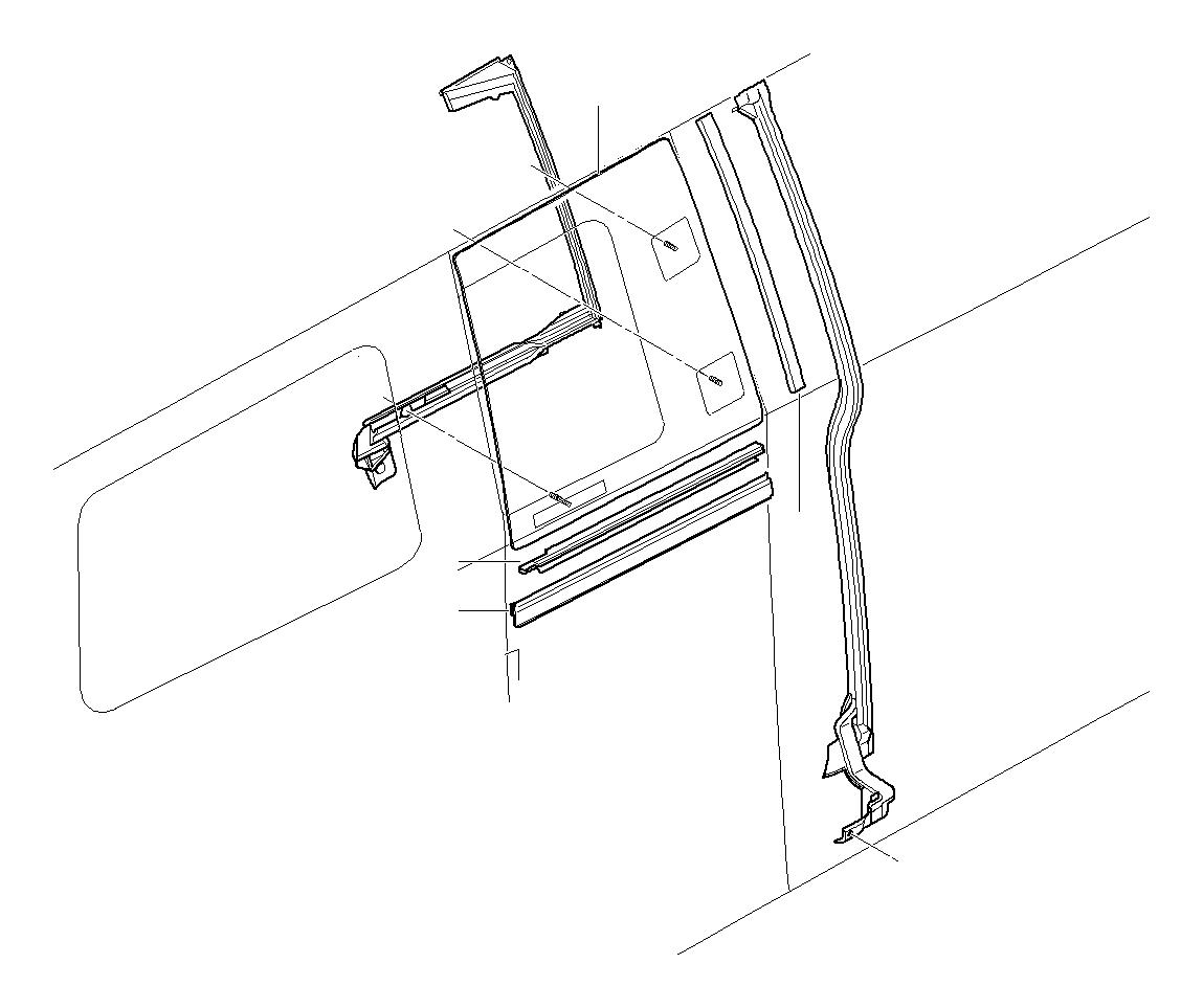 Mini Cooper Clubman Insert Trim Strip Clubdoor Works
