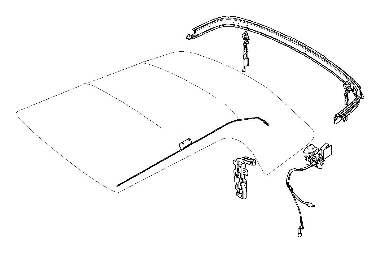 Mini Cooper S Convertible Molding Right