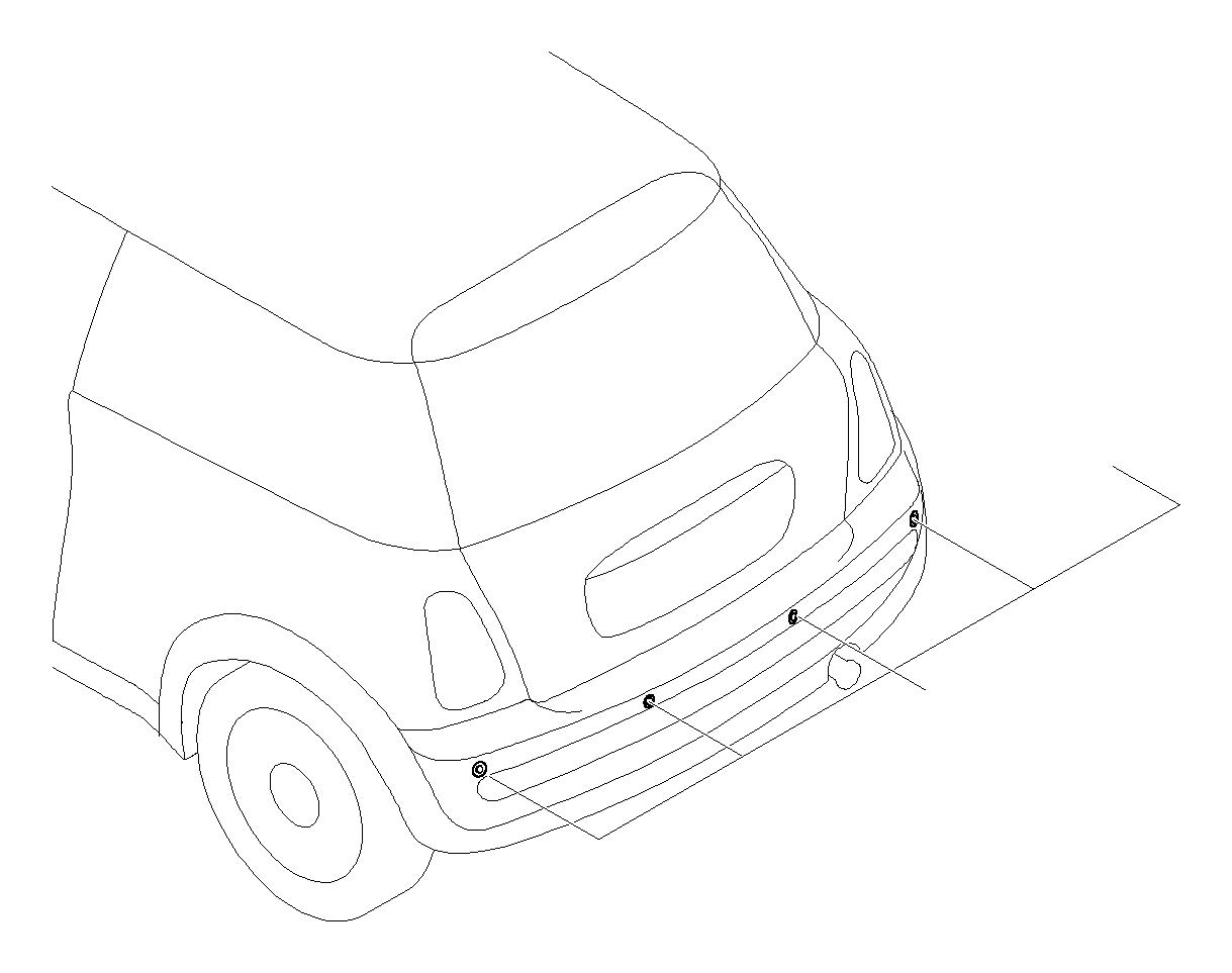 Mini Cooper S Installt Park Distance Control