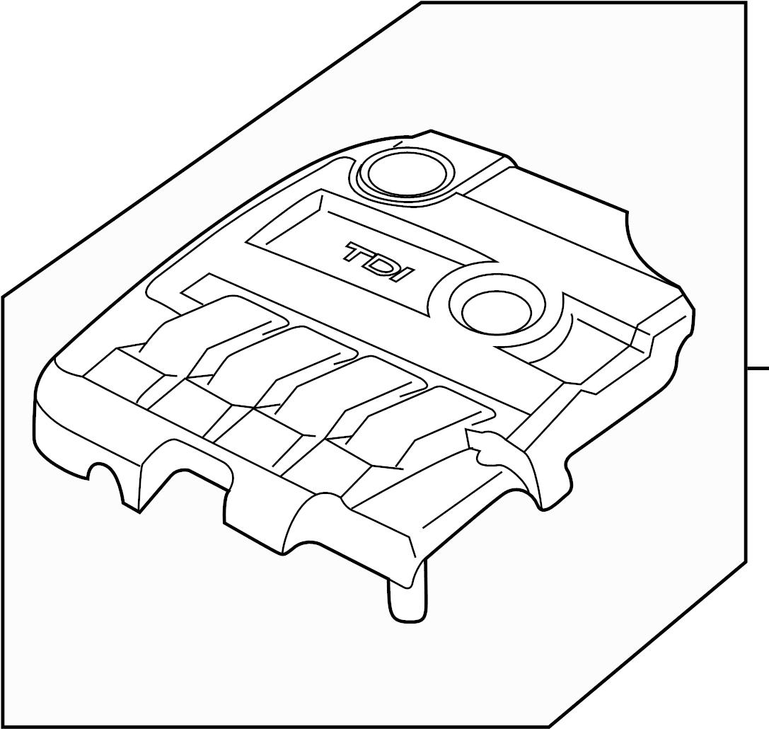 Volkswagen Beetle Convertible Engine Cover Litersel