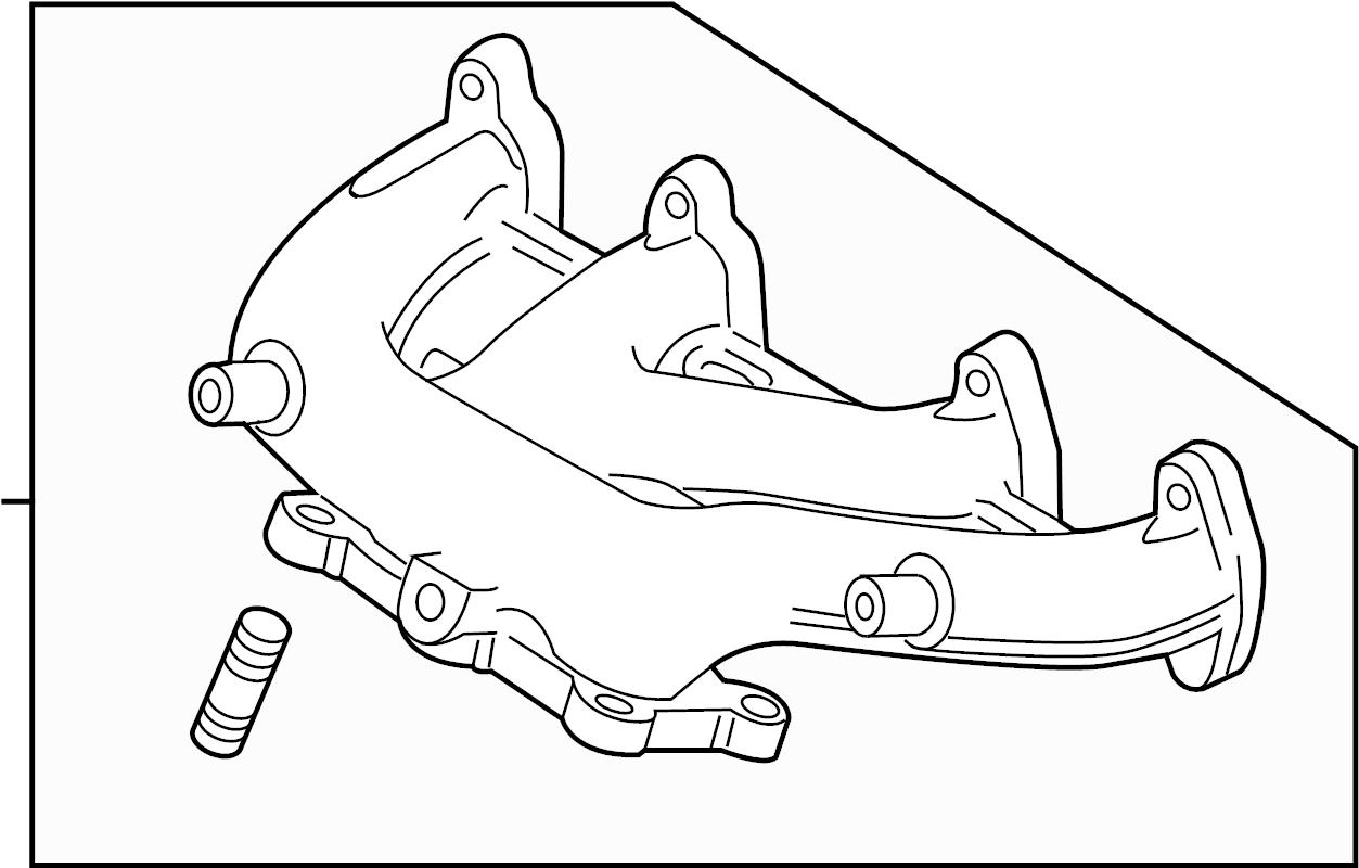 Volkswagen Sportwagen Exhaust Manifold Turbocharger