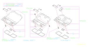 84621AG51A  Lamp assemblymap Room, electrical  Genuine Subaru Part