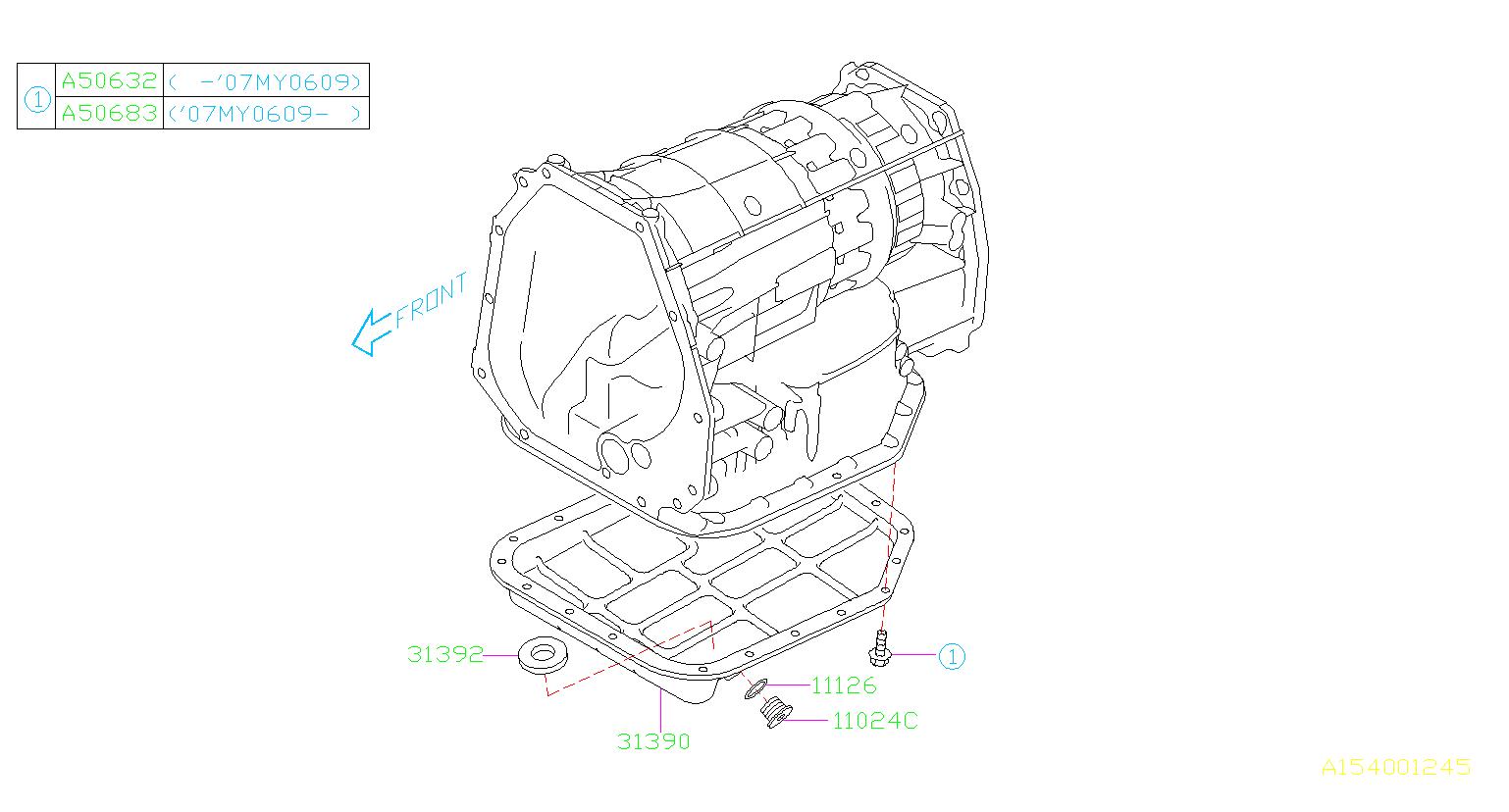 Aod Parts Diagram