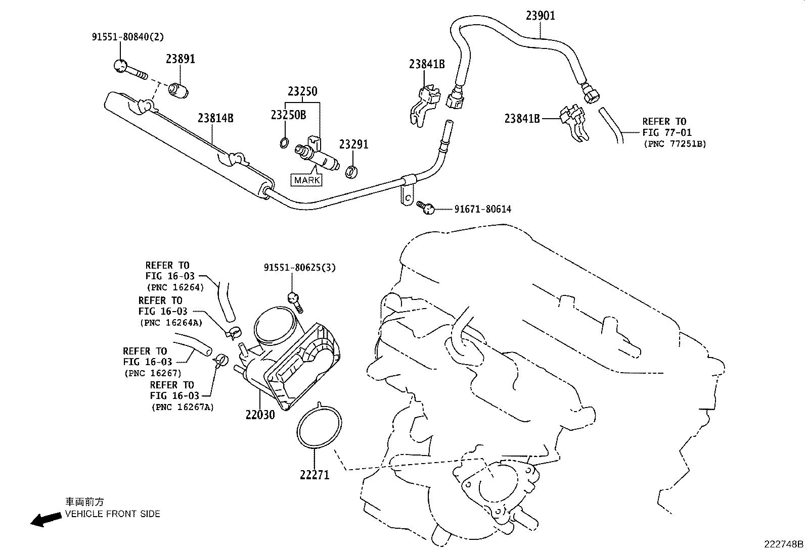 Toyota Prius C Body Assembly Throttle With Motor