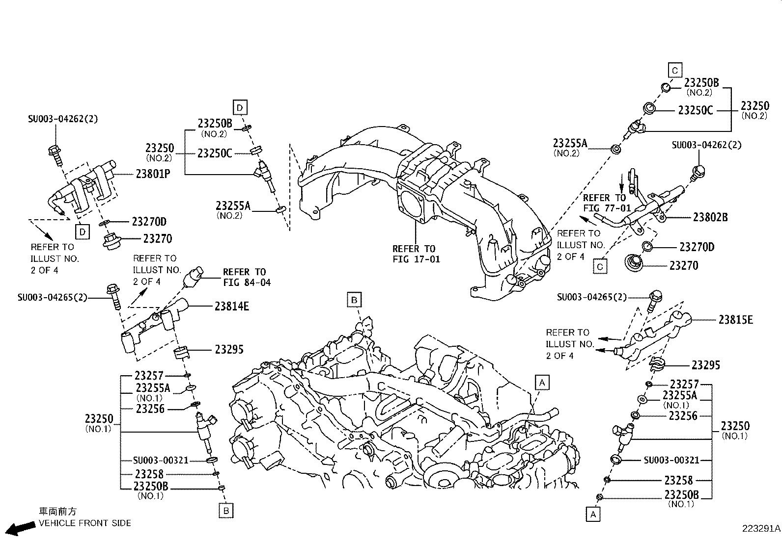 Toyota 86 Fuel Injection Throttle Body Mounting