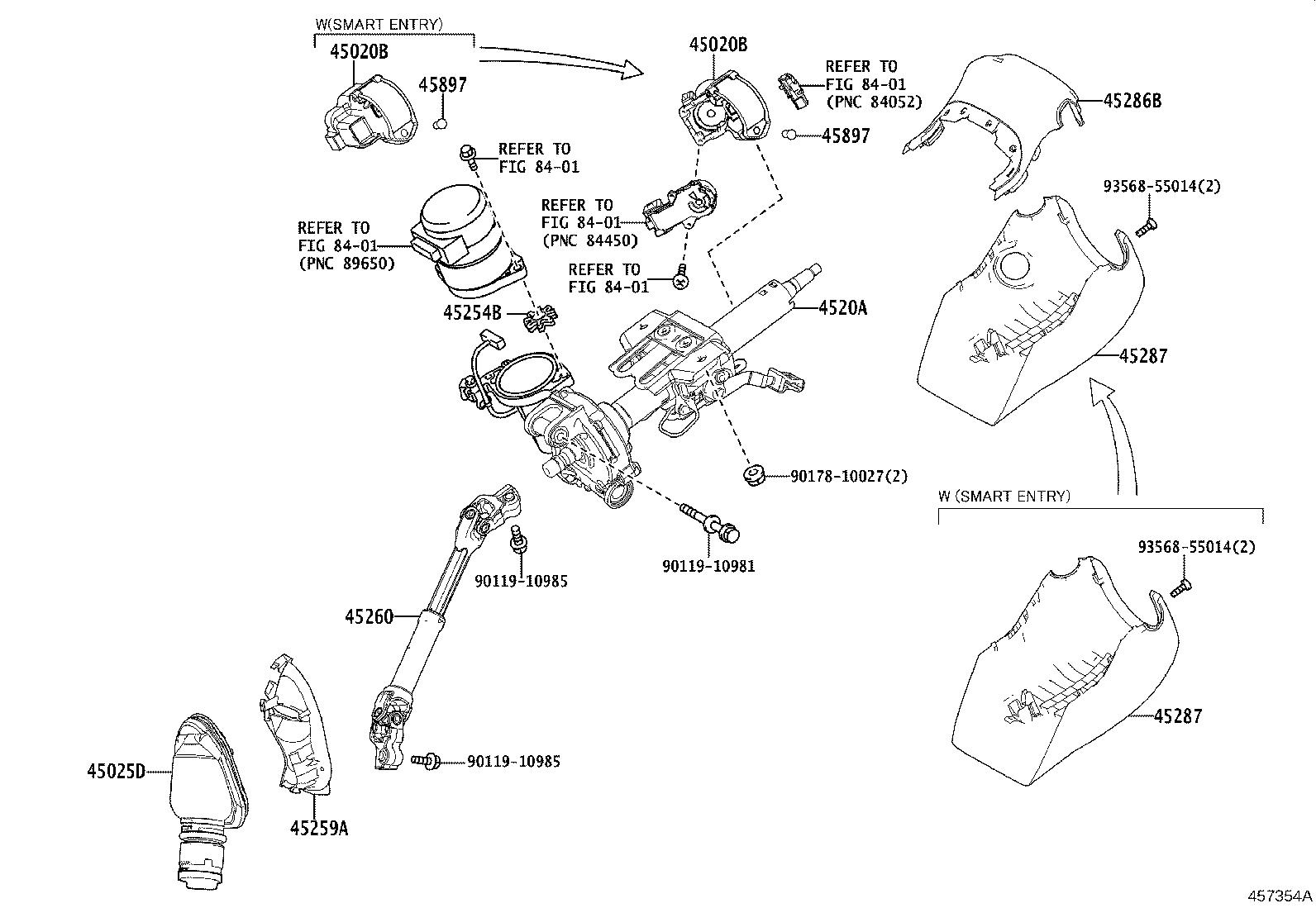 Toyota C Hr Actuator Or Upper Bracket Assembly