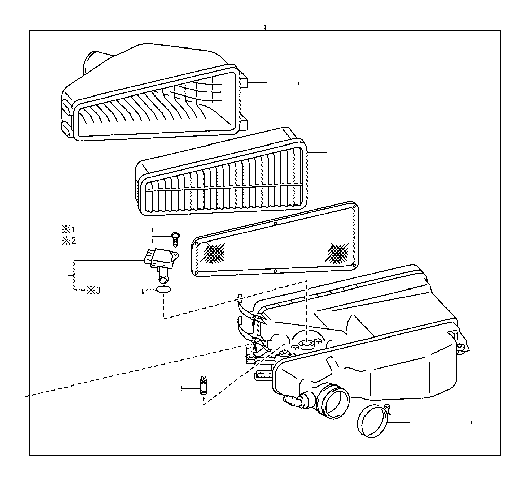 Toyota Tacoma Air Filter And Housing Engine Cleaner