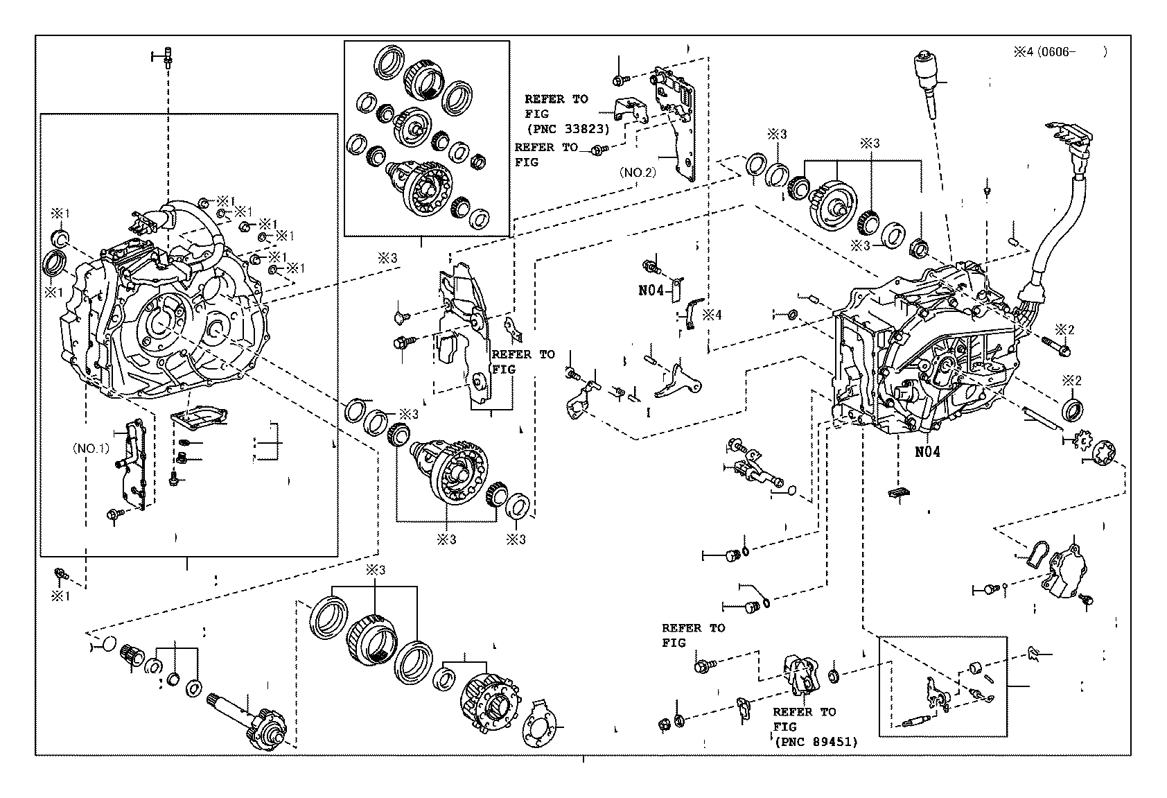 Toyota Highlander Generator Assembly Hybrid Vehicle
