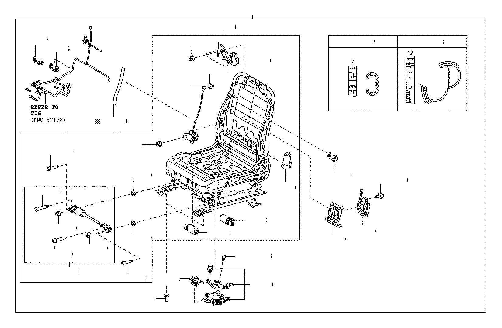 Toyota Tundra Temperature Controlled Seat Blower