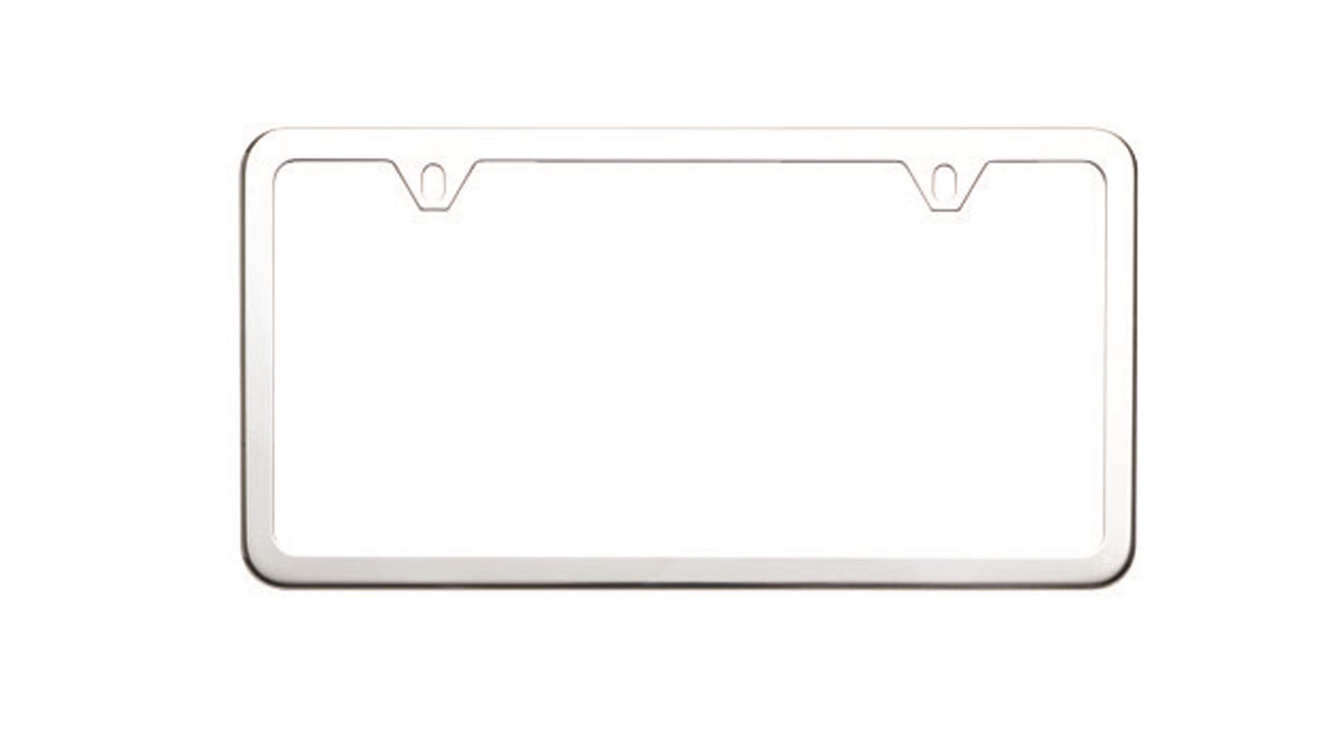 Subaru Impreza License Plate Frame Slim Line Stainless
