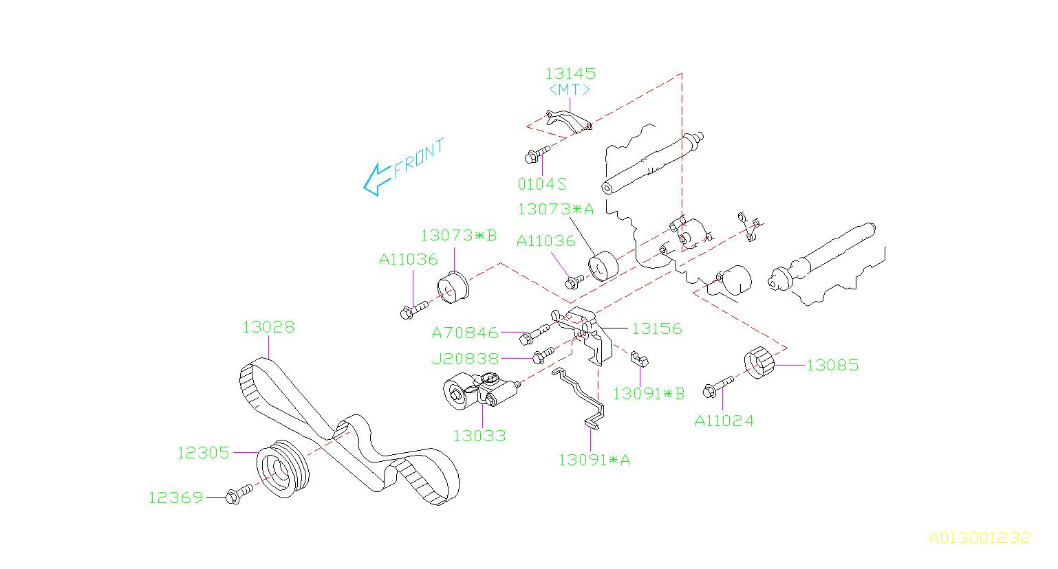 Subaru Baja Engine Diagram - Diagrams Catalogue on