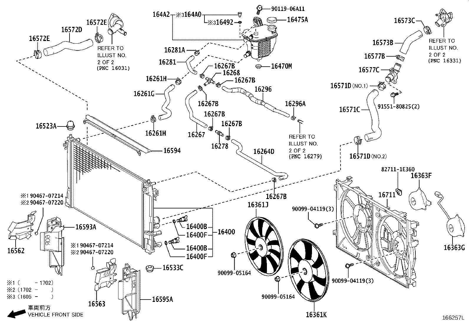 Toyota Prius Water Inlet Sub Assembly With Thermostat