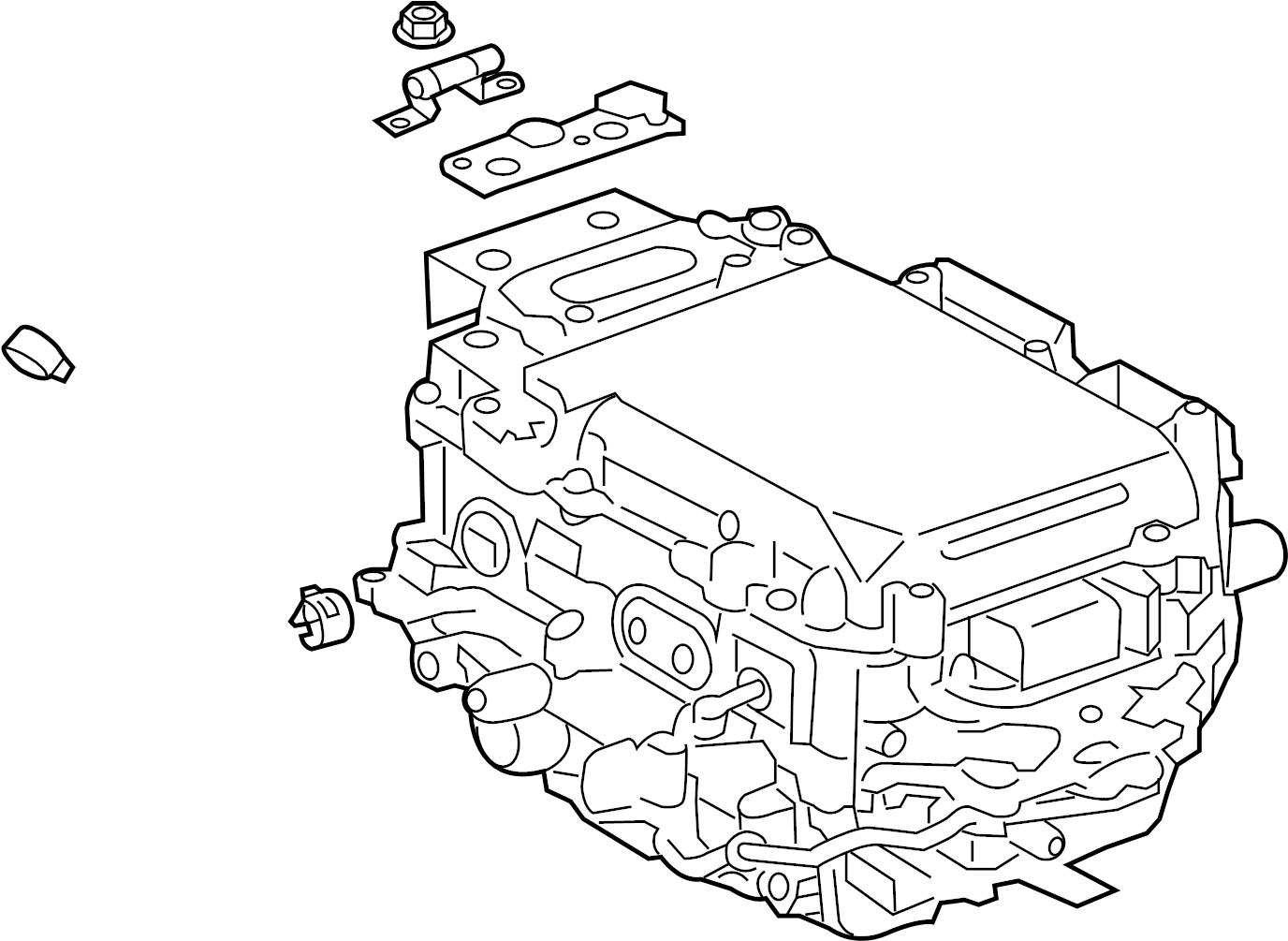 Toyota Camry Drive Motor Inverter Hybrid Assy Converter