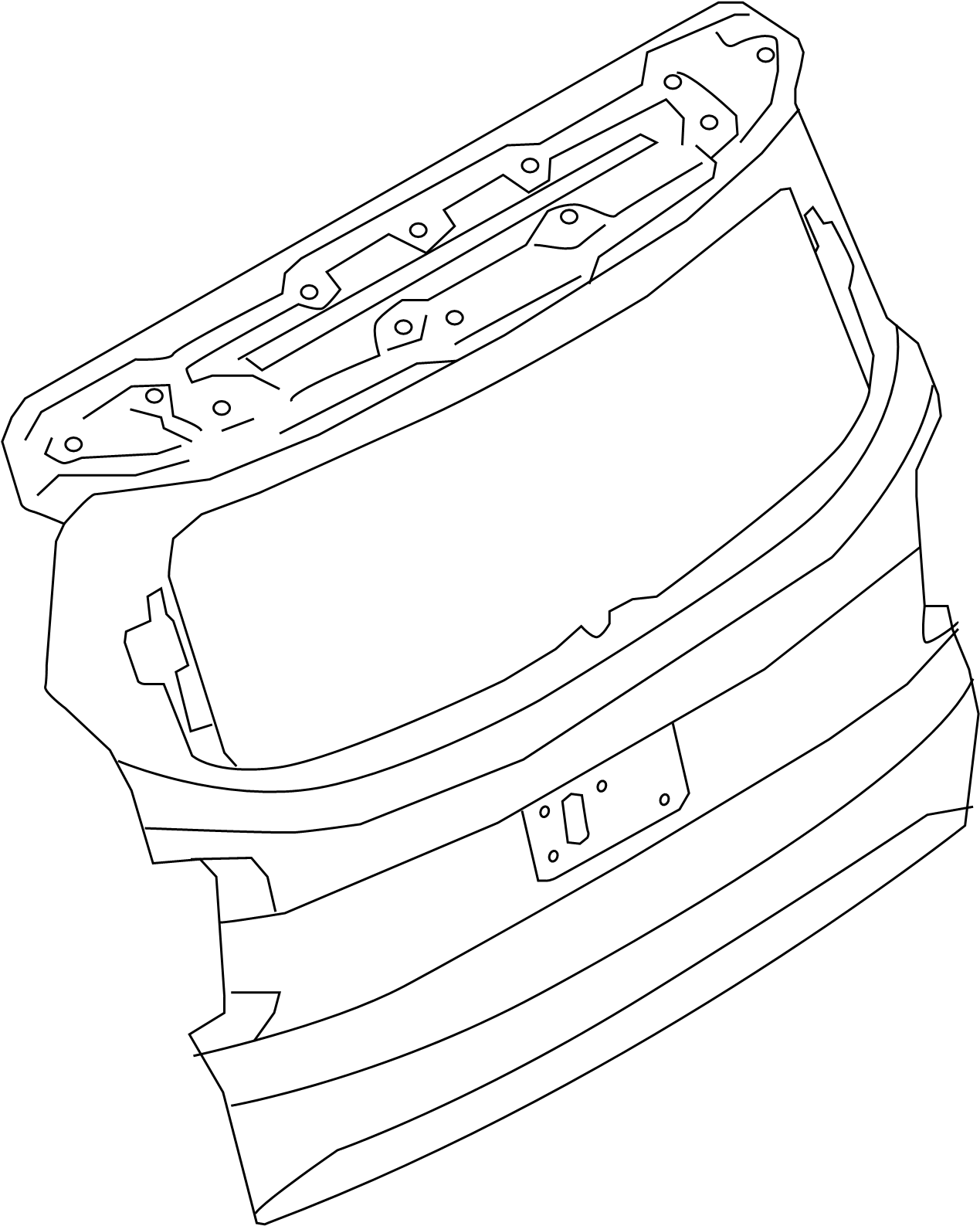 Toyota Camry Camera Assembly Televis Lane Departure