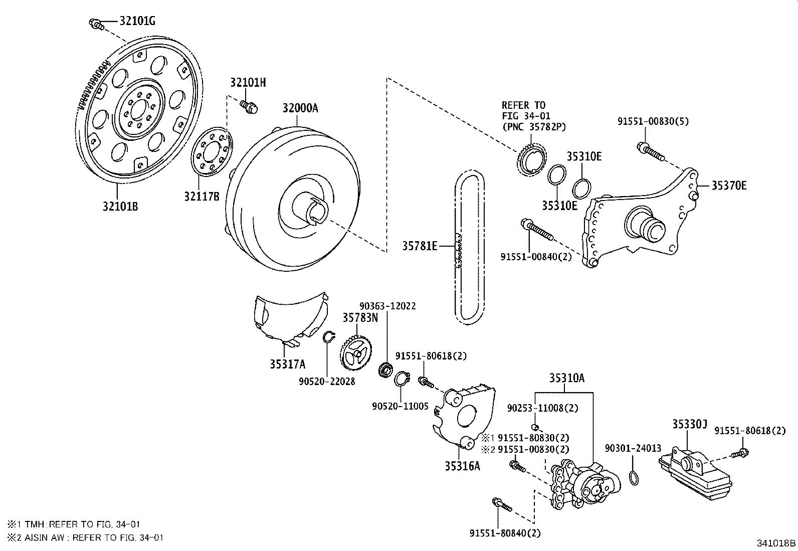 Toyota Corolla Bolt Flywheel Setting Hexagon For Drive