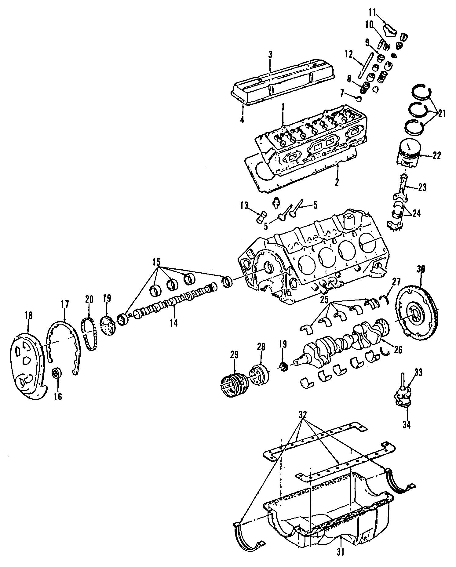 Chevrolet V10 Engine Harmonic Balancer Dampener Engine