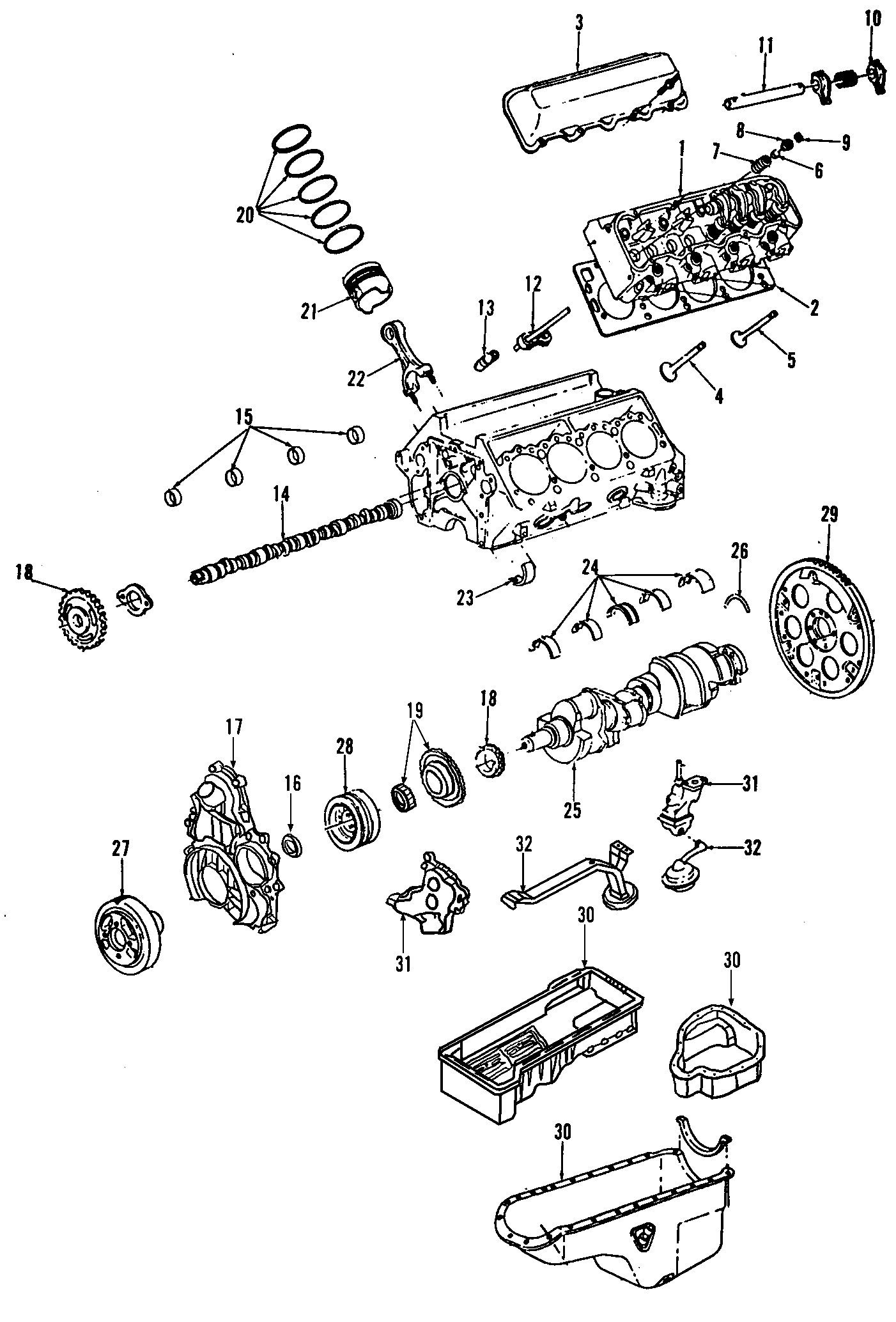 Chevrolet Silverado Hd Crankshaft Assembly All