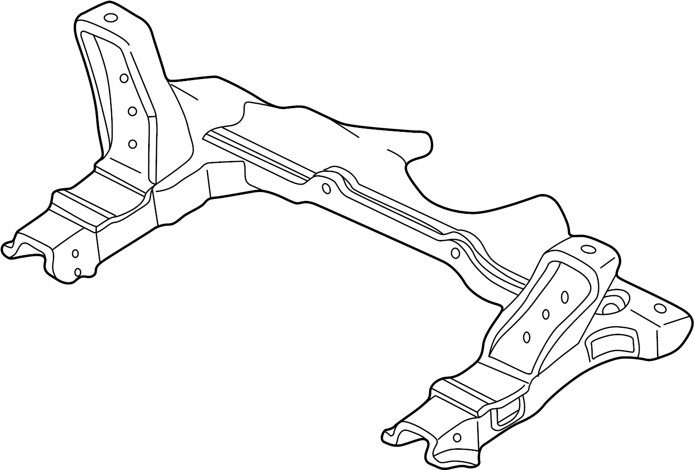 Pontiac Sunfire Engine Cradle Bracket Support Suspension
