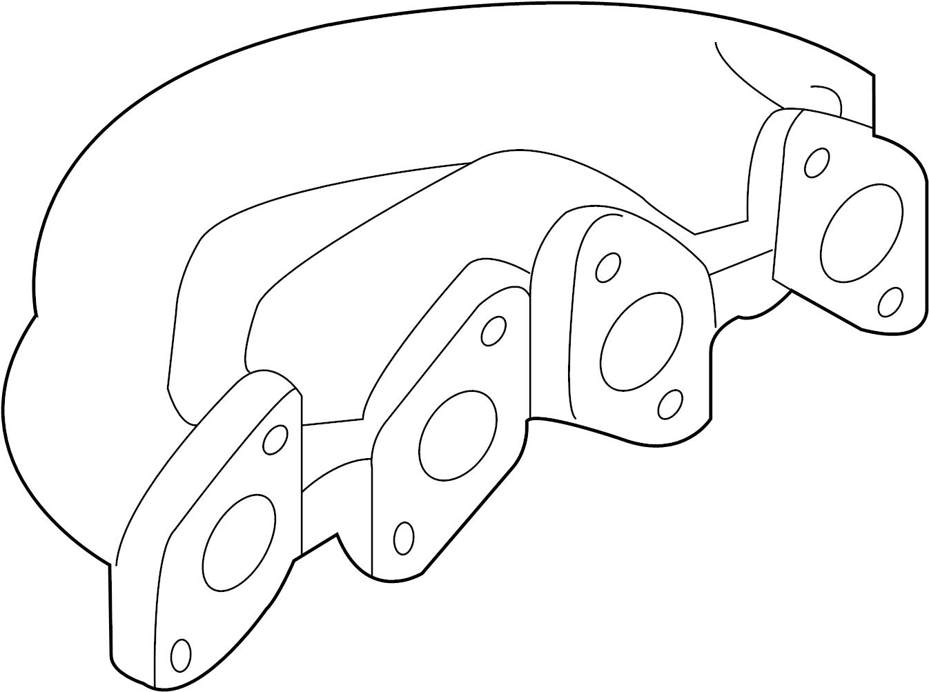 Volkswagen Passat Wagon Exhaust Manifold