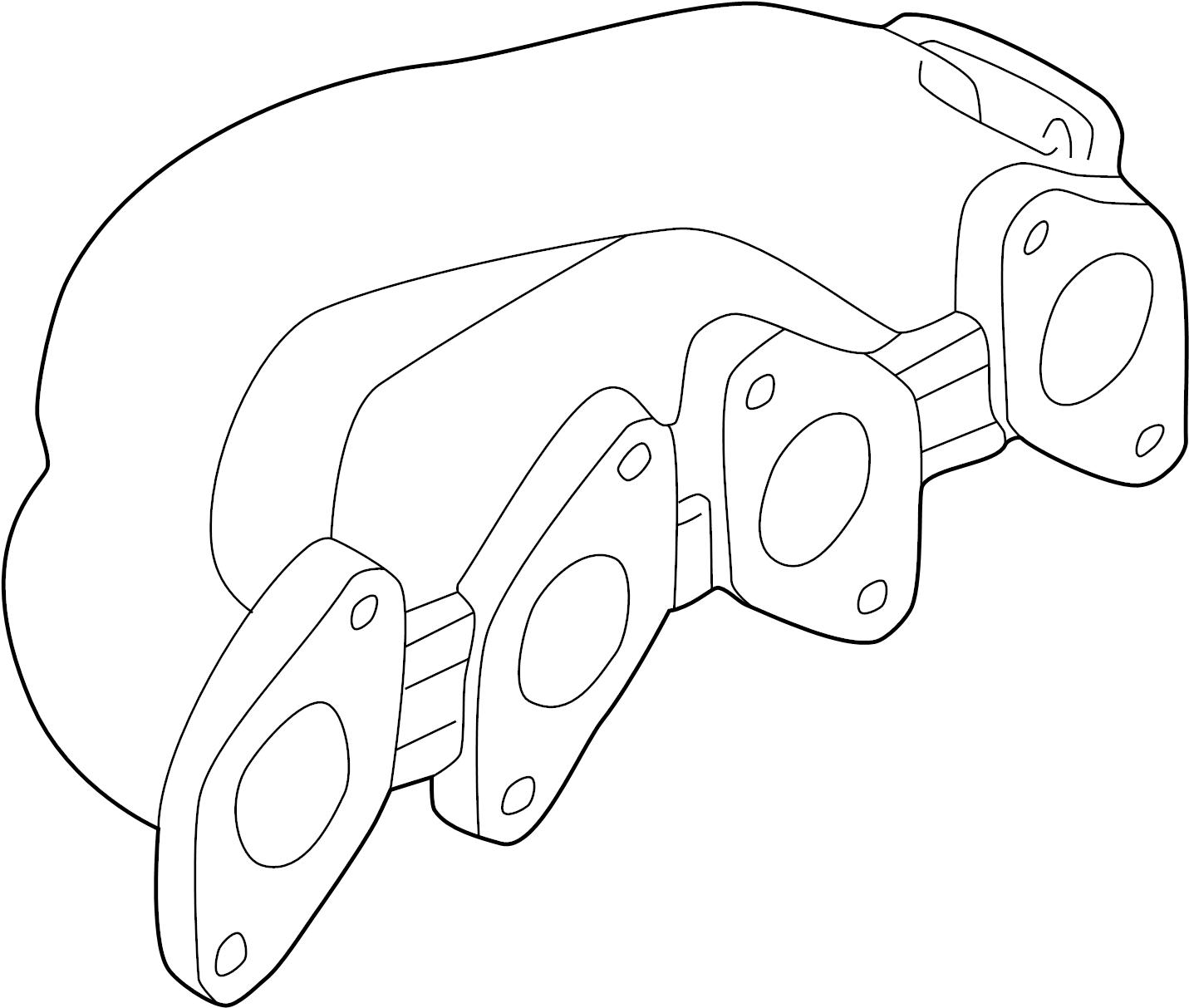 Volkswagen Passat Exhaust Manifold Liter System