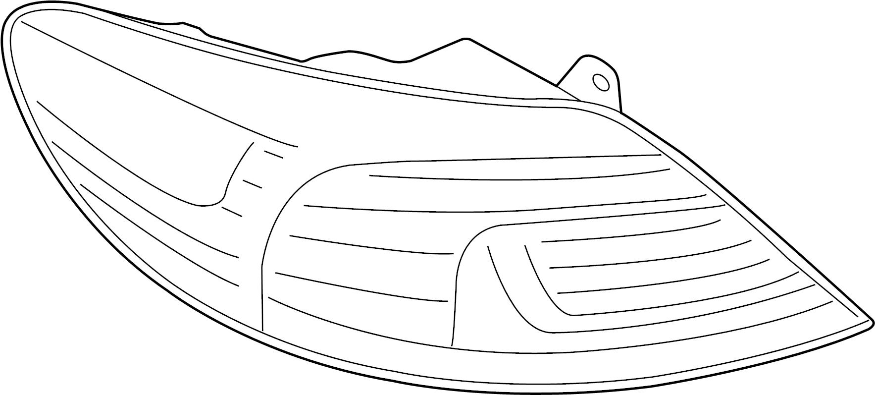 Volkswagen Beetle Convertible 2 0l Sulev M T Lamp
