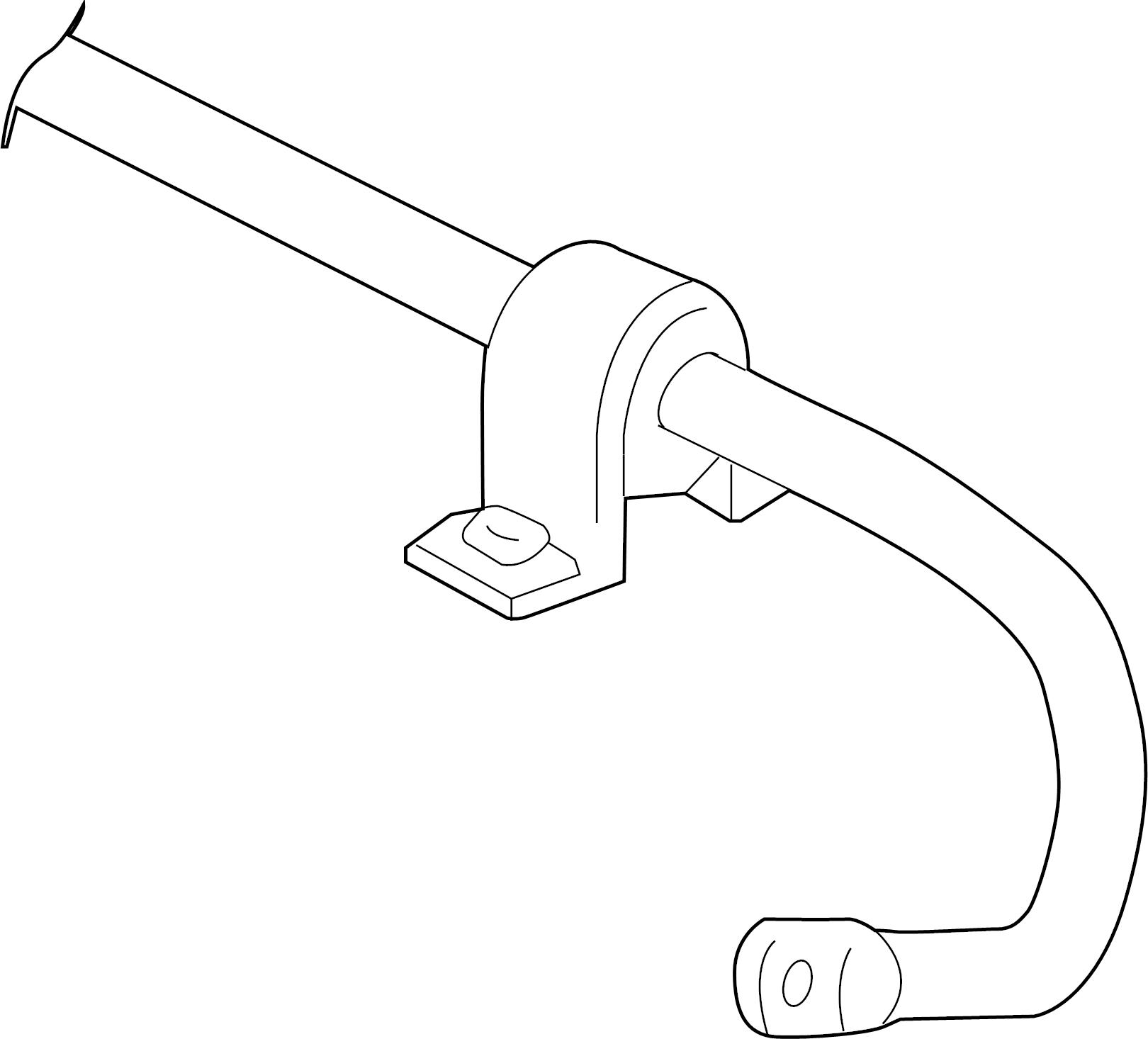Volkswagen Beetle Suspension Stabilizer Bar